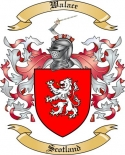 Walace Family Crest from Scotland