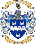 Wald Family Coat of Arms from England