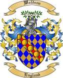 Waldren Family Crest from England