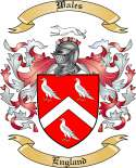 Wales Family Coat of Arms from England