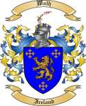 Walh Family Crest from Ireland