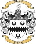 Walker Family Coat of Arms from England