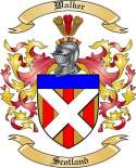 Walker Family Coat of Arms from Scotland