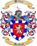 Wallace Family Coat of Arms from Scotland2