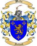 Walls Family Coat of Arms from Ireland