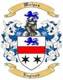 Walpes Family Coat of Arms from England
