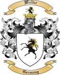 Walter Family Crest from Germany2