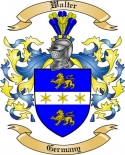 Walter Family Crest from Germany