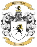 Walterlein Family Crest from Germany