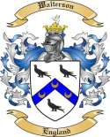 Walterson Family Coat of Arms from England
