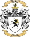 Waltherr Family Crest from Germany2