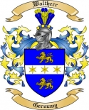 Waltherr Family Crest from Germany