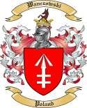 Wanczowski Family Crest from Poland