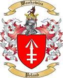 Wankowicz Family Coat of Arms from Poland