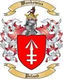 Wankowicz Family Crest from Poland