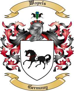 Wapels Family Coat of Arms from Germany