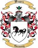 Wappes Family Crest from Germany