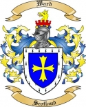 Ward Family Coat of Arms from Scotland