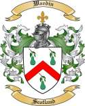 Wardin Family Coat of Arms from Scotland
