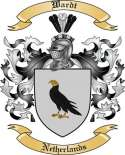 Wardt Family Coat of Arms from Netherlands
