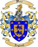 Ware Family Crest from England