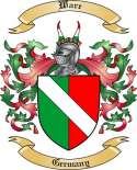 Ware Family Crest from Germany