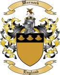 Warnock Family Crest from England