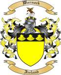 Warnock Family Crest from Ireland
