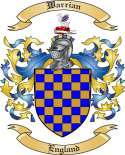 Warrian Family Crest from England2