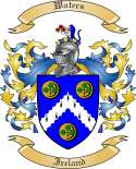Waters Family Coat of Arms from Ireland