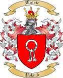 Watsic Family Crest from Poland
