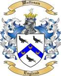 Watteson Family Crest from England