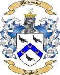 Wattessone Family Coat of Arms from England
