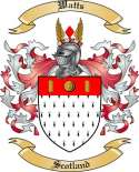 Watts Family Coat of Arms from Scotland