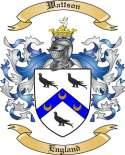 Wattson Family Crest from England