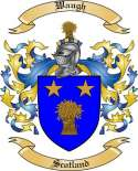 Waugh Family Coat of Arms from Scotland