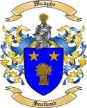 Waughe Family Crest from Scotland