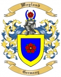 Wayland Family Coat of Arms from Germany