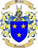 Weaver Family Crest from Germany2