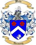 Webb Family Crest from Germany