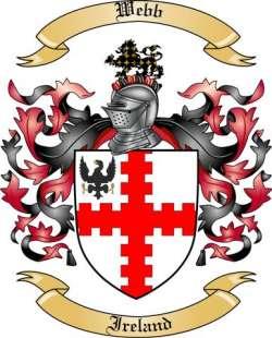 Webb Family Coat of Arms from Ireland