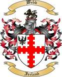 Webb Family Crest from Ireland
