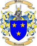 Webber Family Coat of Arms from Germany2