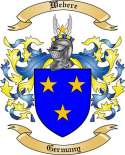 Webere Family Crest from Germany2