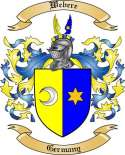 Webere Family Crest from Germany3