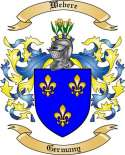 Webere Family Crest from Germany