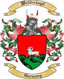 Wedderkopf Family Crest from Germany