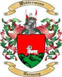Weddermann Family Crest from Germany