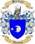 Wedekindt Family Crest from Germany