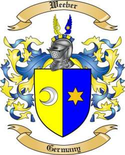 Weeber Family Coat of Arms from Germany3